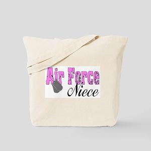 Air Force Niece  Tote Bag