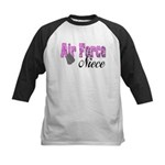 Air Force Niece Kids Baseball Jersey
