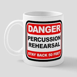 Danger: Percussion Rehearsal Mug