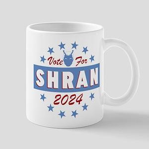 Vote For Shran Star Trek Mugs