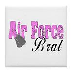 Air Force Brat ver1 Tile Coaster