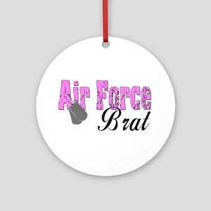 Air Force Brat ver1 Ornament (Round)