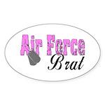 Air Force Brat ver1 Oval Sticker