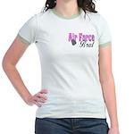 Air Force Brat ver1 Jr. Ringer T-Shirt