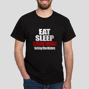 Eat Sleep Snare drum Dark T-Shirt