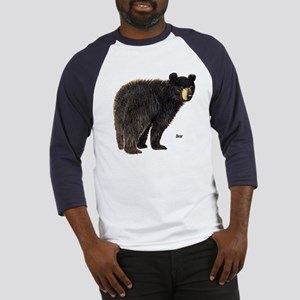 Black Bear (Front) Baseball Jersey