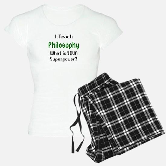 teach philosophy Pajamas