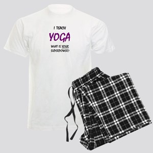 teach yoga Men's Light Pajamas