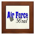 Air Force Brat ver2 Framed Tile