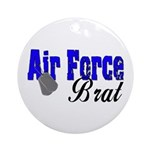 Air Force Brat ver2 Ornament (Round)