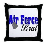 Air Force Brat ver2  Throw Pillow