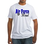 Air Force Brat ver2 Fitted T-Shirt