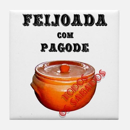 Feijoada Tile Coaster