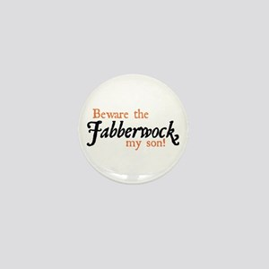 Beware the Jabberwock Mini Button