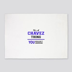 It's CHAVEZ thing, you wouldn't und 5'x7'Area Rug