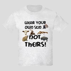 Wear Own Skin Variety Kids Light T-Shirt