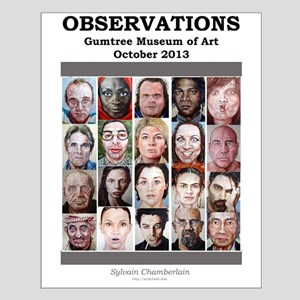 OBSERVATIONS 16 x 20 Exhibition Poster