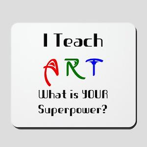 teach art Mousepad