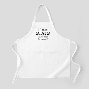 teach stats Apron