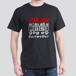 Protected By Rottweiler Dark T-Shirt
