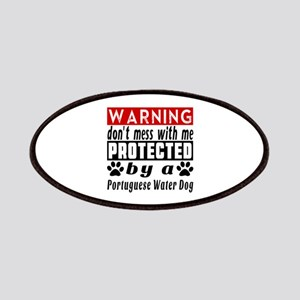 Protected By Portuguese Water Dog Patch