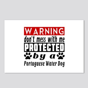 Protected By Portuguese W Postcards (Package of 8)