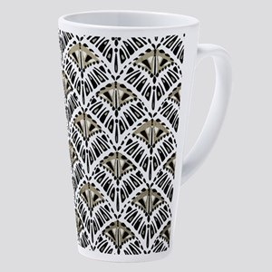 Art Deco Fans 17 Oz Latte Mug