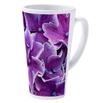 Hydrangea 17 Oz Latte Mug