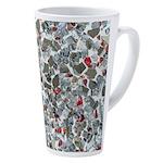 Broken Glass 17 Oz Latte Mug