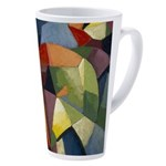 Art Deco Geometric 17 Oz Latte Mug