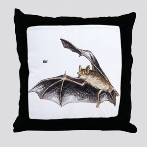 Bat for Bat Lovers Throw Pillow