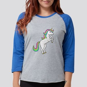 Rainbow Unicorns I love them Long Sleeve T-Shirt