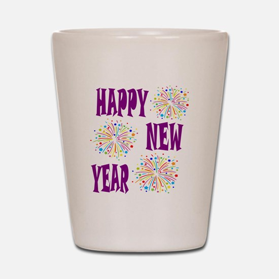 Funny New years Shot Glass