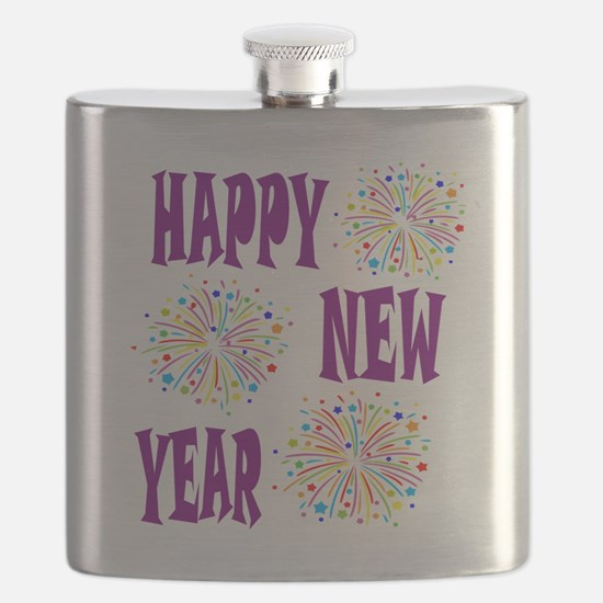 Cute New years day Flask