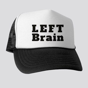 LEFT Brain Trucker Hat
