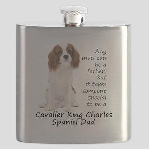Spaniel Dad Flask