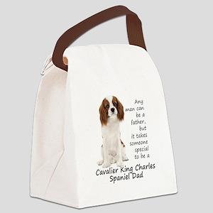 Spaniel Dad Canvas Lunch Bag