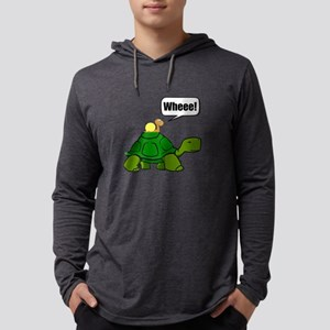 Snail Turtle Ride Long Sleeve T-Shirt