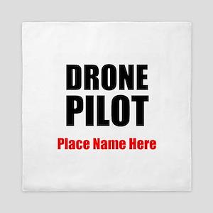 Drone Pilot Queen Duvet
