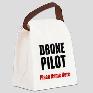 Drone Pilot Canvas Lunch Bag