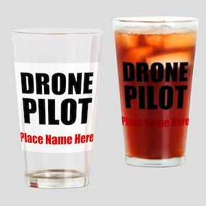 Drone Pilot Drinking Glass