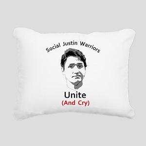 Social justice warrior Rectangular Canvas Pillow