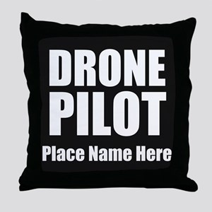 Drone Pilot Throw Pillow