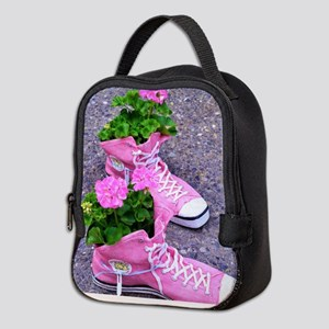 Bloom where you are planted Neoprene Lunch Bag 7433c4418e496