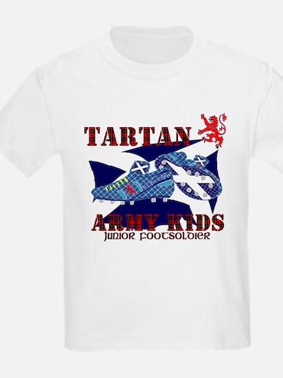 Tartan Army kids football T-Shirt