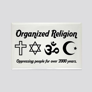 Organized Religion Rectangle Magnet