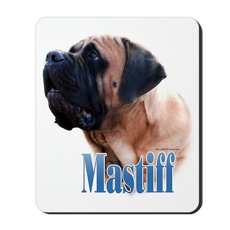 Mastiff(apricot)Name Mousepad