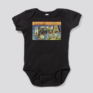 Greetings from Iowa Infant Bodysuit Body Suit