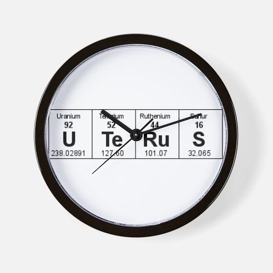 Cute Uterus Wall Clock