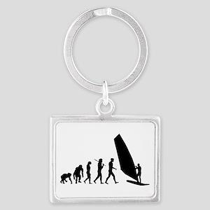 Windsurfing Evolution Keychains